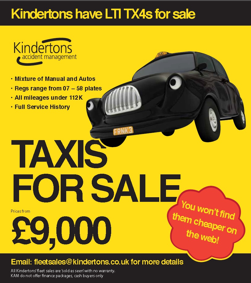 Taxis for sale - insureTAXI (taxi insurance broker)