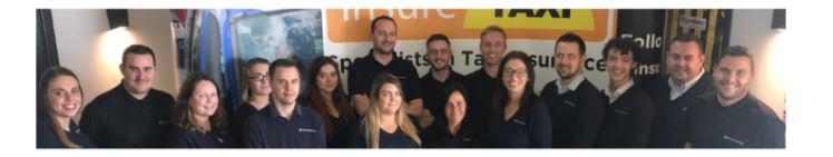 insureTAXI Taxi Insurance Specialist Team